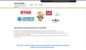 Auto Gaz SMOK - strona wizytówka