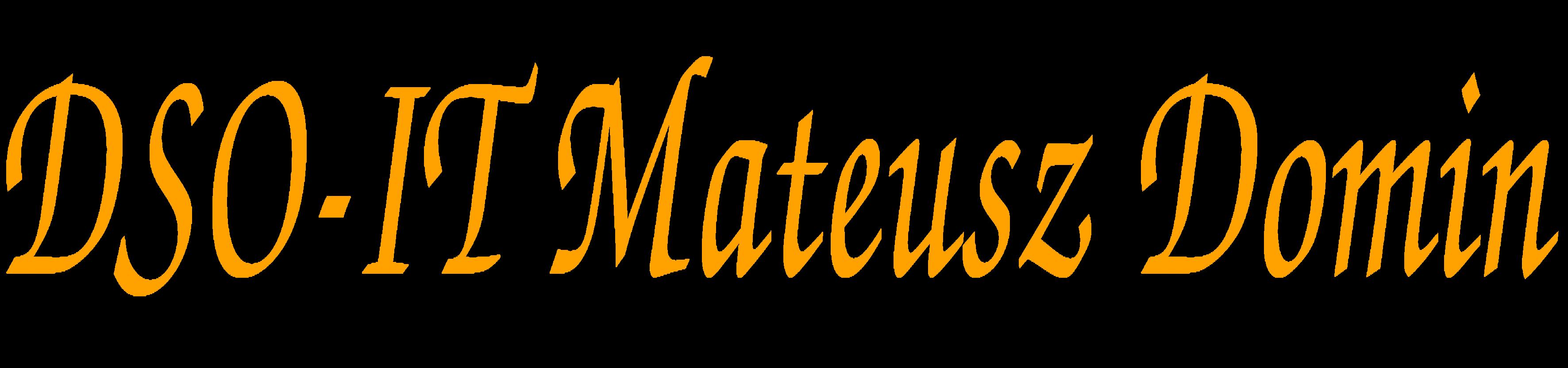 DSO-IT Mateusz Domin